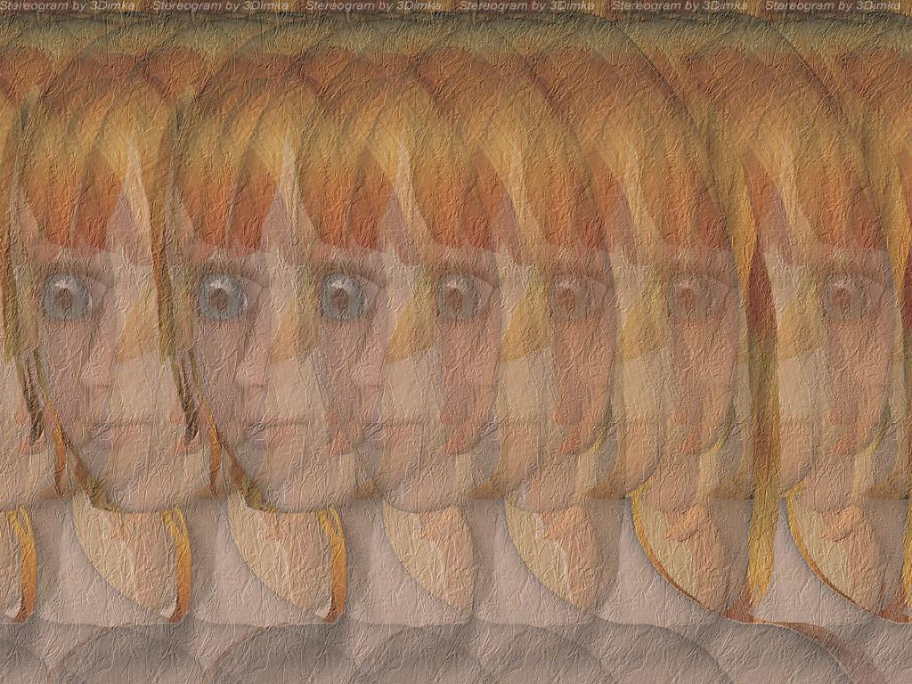 Stereogram by 3Dimka: Aiko Portrait. Tags: girl, portrait,face, hidden 3D picture (SIRDS)