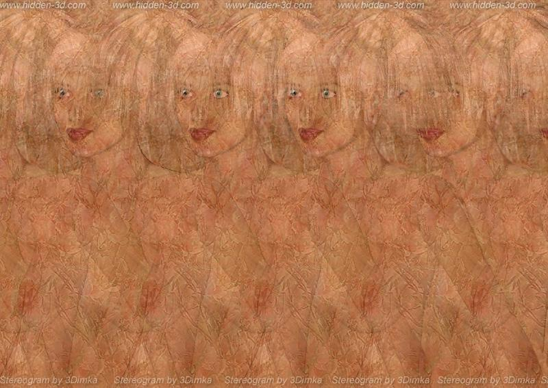 Stereogram by 3Dimka: Naked girl. Tags: nude,naked,girl,wooman,erotic, hidden 3D picture (SIRDS)