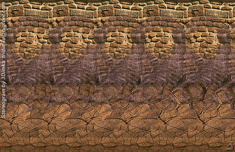 Stereogram by 3Dimka: Scorpio. Tags: scorpio, insect, hidden 3D picture (SIRDS)