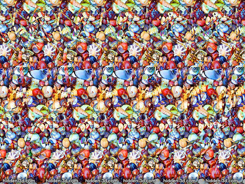 Stereogram by 3Dimka: Guess the movie. Tags: futurama zoidberg why not, hidden 3D picture (SIRDS)