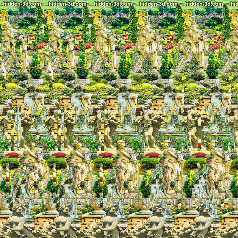 Stereogram by 3Dimka: Relaxing Stereogram. Tags: keep calm crown british english england, hidden 3D picture (SIRDS)